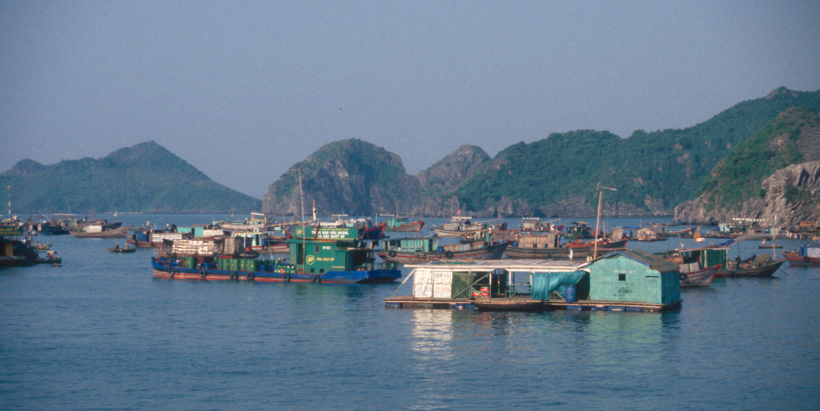 how to catch a ferry to quang ninh